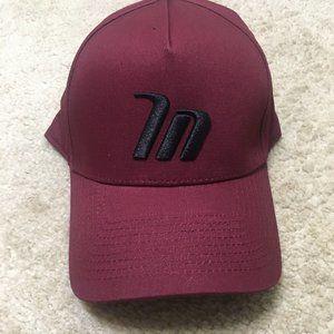 NWOT New A Frame Hat Adjustable Snapback Maroon OS